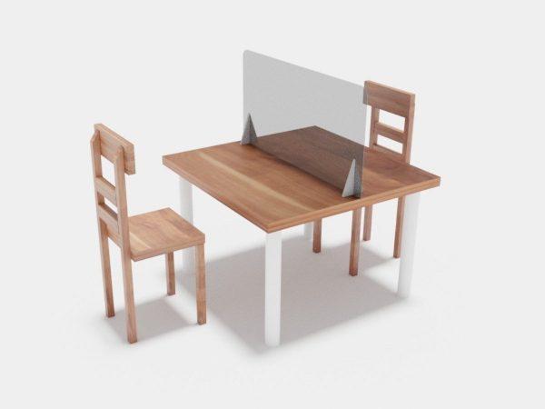 Mampara para mesa pequeña