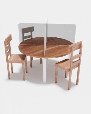 Mampara para mesa