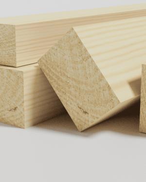 Listón de madera de pino