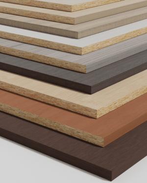 Melamina tonos de madera