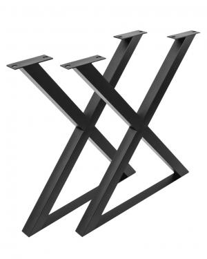 Patas de forja en X