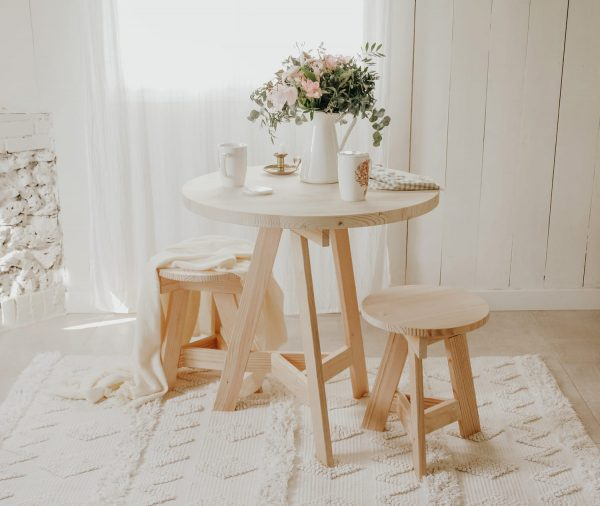 pie para mesa redonda